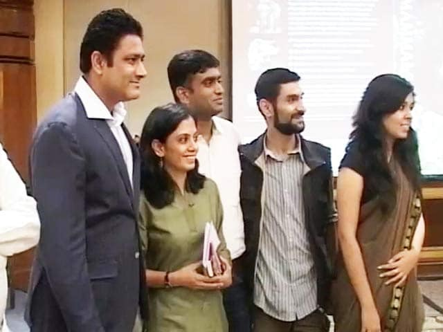Video : Anil Kumble Pursues Another Passion: Wildlife Conservation
