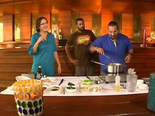 Video : Cook off With Rocky and Mayur