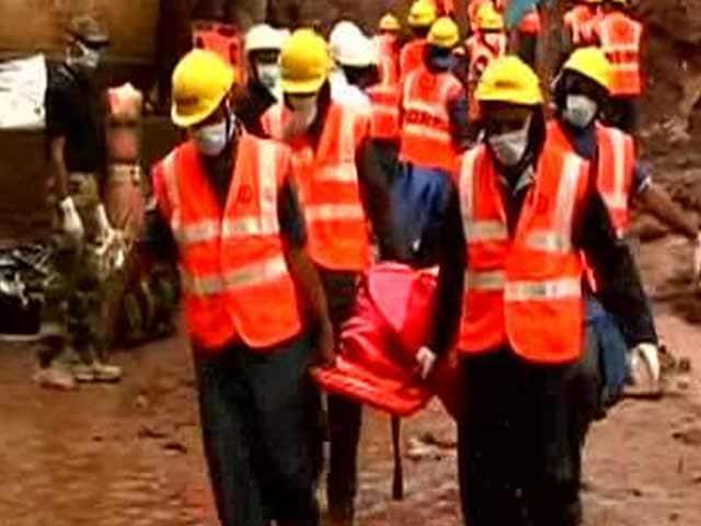 Video : Pune Landslide: 82 Dead, Sources Say More Villages at Risk