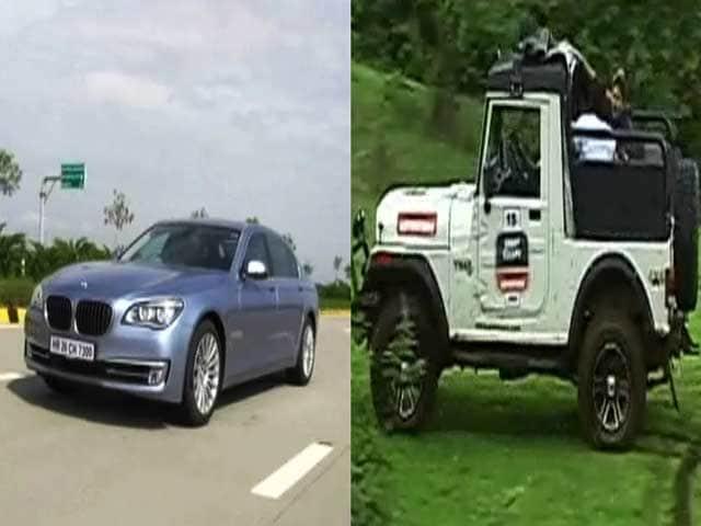 Video : BMW ActiveHybrid 7 Driven, Plus the Mahindra Great Escape in Lonavla