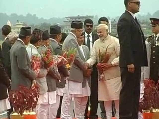Video : PM Modi Arrives in Nepal, Seeks 'New Chapter' in Bilateral Ties