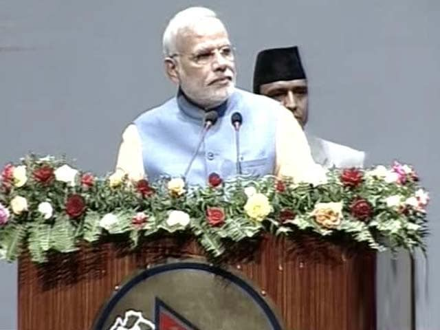 Video : PM Narendra Modi Addresses Nepal Parliament