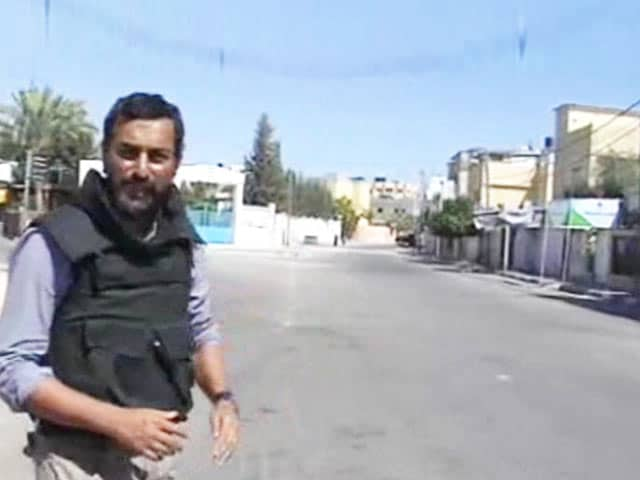 Video : Watch: NDTV Reports from Rafah in South Gaza