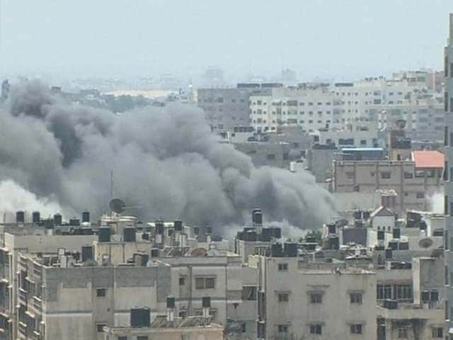 Video : Gaza Truce Begins After Hamas Rocket Salvo at Israel