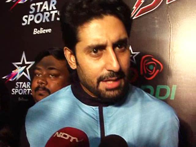 Very Happy With Team's Win: Abhishek Bachchan