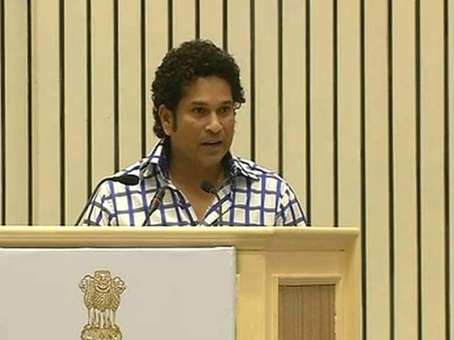 Video : Sachin Says Medical Emergency Kept Him Away From Parliament