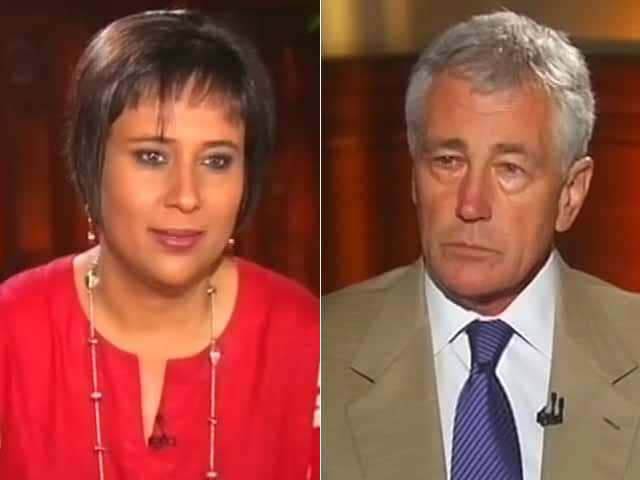 Video : Watch: The Chuck Hagel Interview - US Military Aid to Pakistan Being Used Against India?
