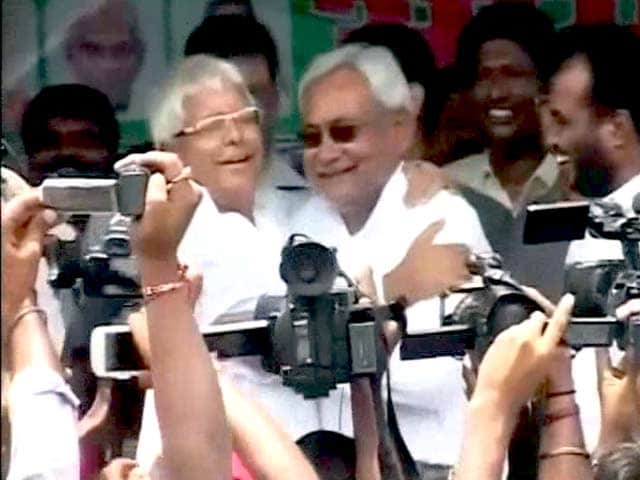 Video : Bhai-Bhai: Lalu on The New Partnership With Nitish