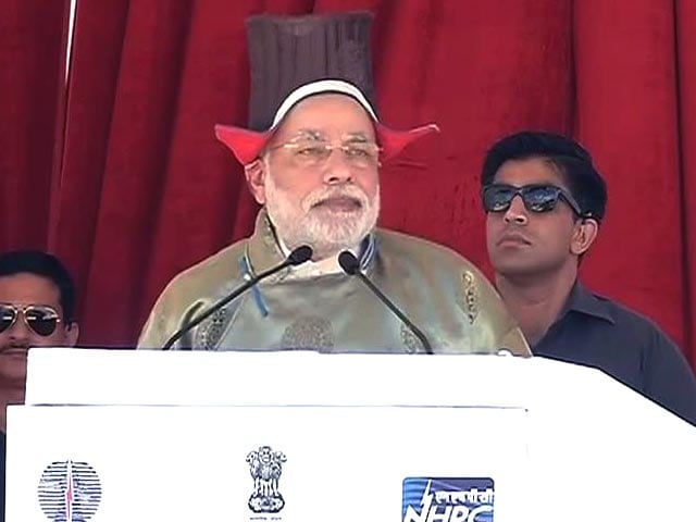Video : Am Here Twice in Two Months, All Due to Your Love: PM Narendra Modi in Kashmir