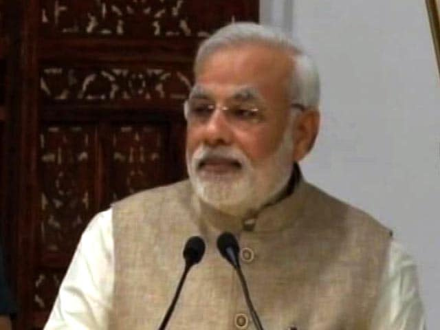 Video : In Kashmir, PM Condemns 'Proxy War' By Pakistan