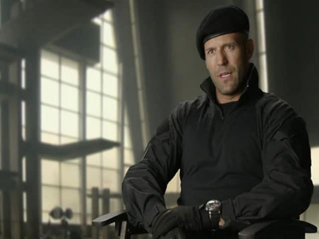 Video : The <i>Expendables</i> are Old School Friends: Jason Statham