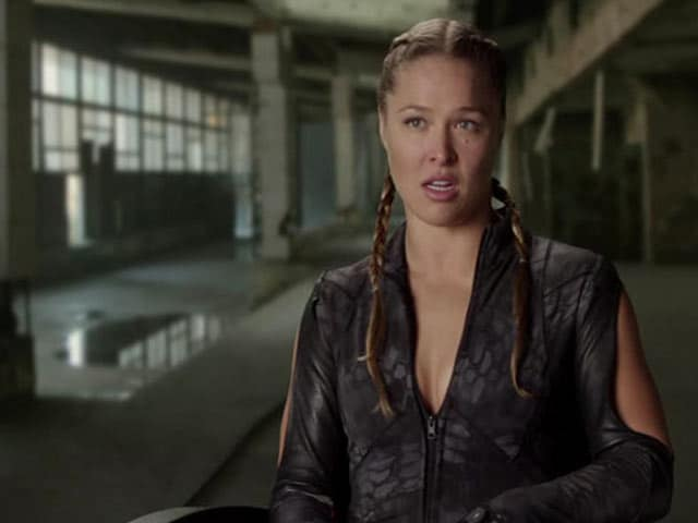 The Expendables 3 Will be My Olympics of Movies: Ronda Rousey