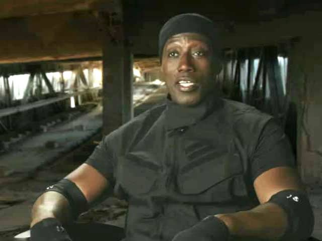Honoured to be Part of The Expendables 3 Cast: Wesley Snipes