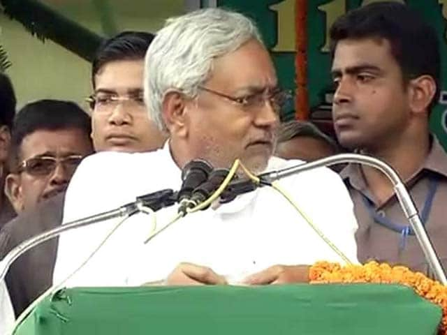 Video : Nitish Kumar's Dig at RSS: 'We Have Allied Against Rumour Spreading Society'