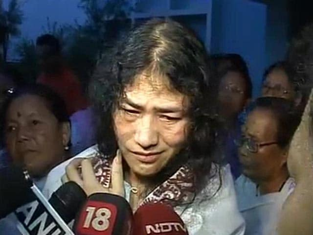 Video : Irom Sharmila Says Happy to be Released but Will Continue Fast
