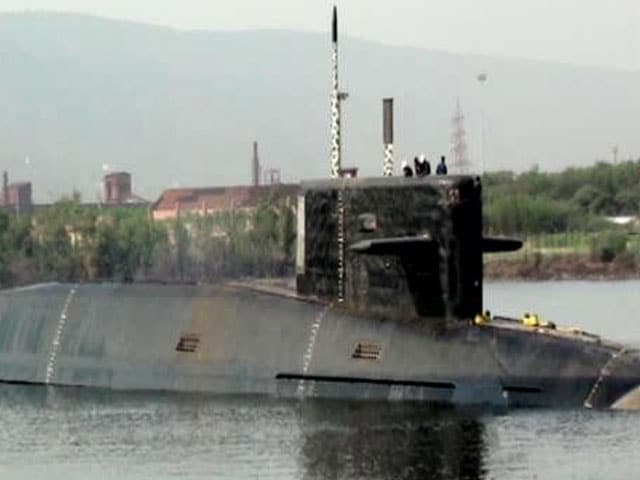 Video : NDTV Exclusive: This is INS Arihant, First Made-in-India Nuclear Submarine