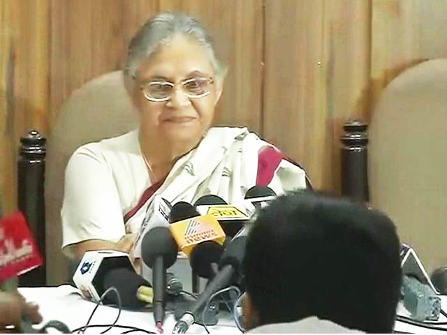 Video : Resigned as Kerala Governor Yesterday, Says Sheila Dikshit