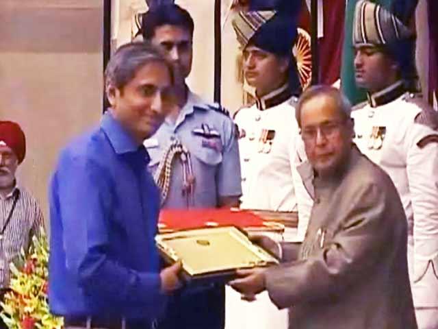 Videos : एनडीटीवी के रवीश कुमार को गणेश शंकर विद्यार्थी पुरस्कार