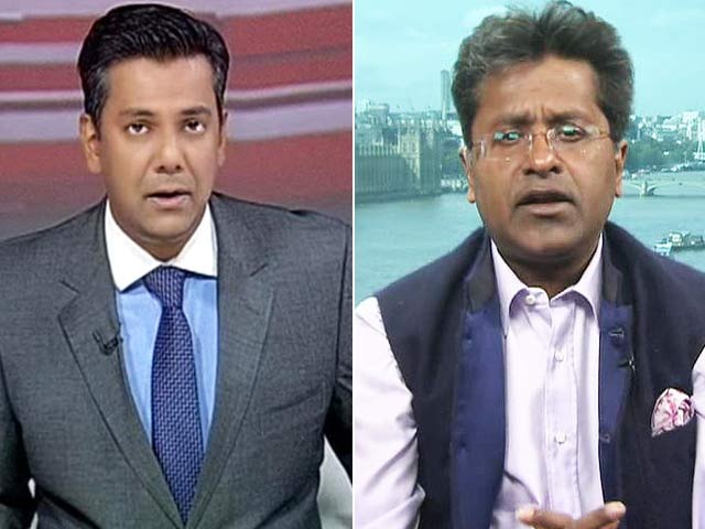 Video : Watch - I Will Quit Cricket if Mudgal Panel Clears Srinivasan: Lalit Modi