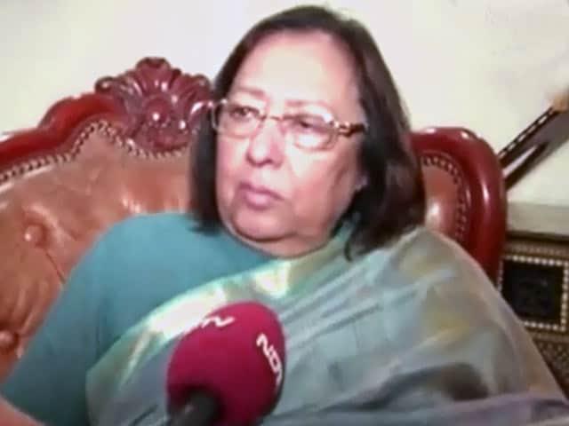 Video : 'Said Hindi, Not Hindu': Najma Heptulla Clarifies After Appearing to Back RSS View