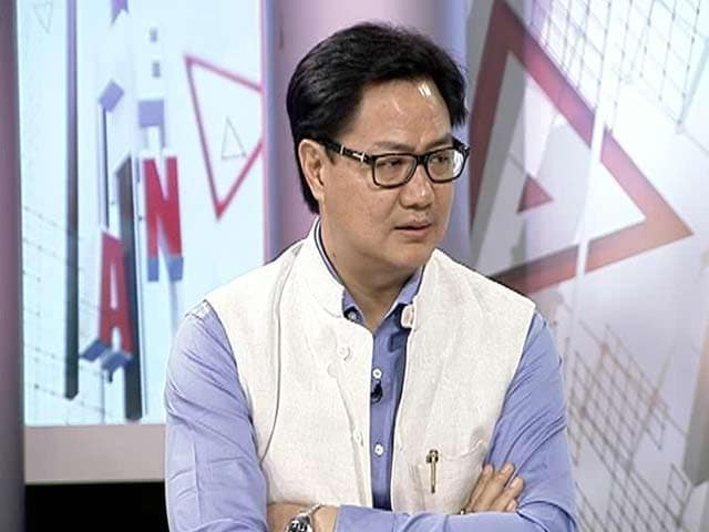 Video : Watch: Government Rethinking on Special Army Powers, AFSPA - Kiren Rijiju to NDTV
