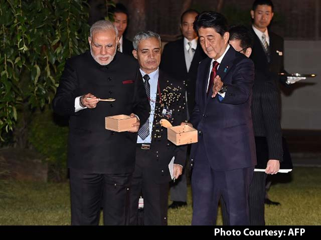 Video : Also Part of PM Modi's Japan Visit, Feeding Fish and Special Gifts