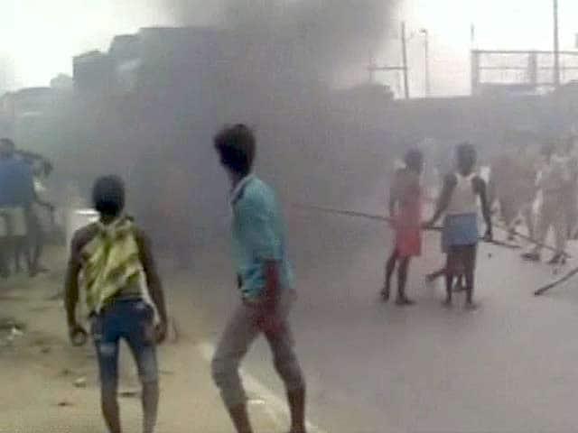 Video : पटना में सड़क हादसे पर जमकर हंगामा, आगजनी