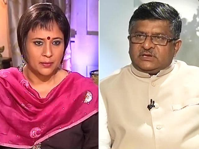 Video : Watch: CBI Director Must Maintain Standards - Law Minister Ravi Shankar Prasad To NDTV