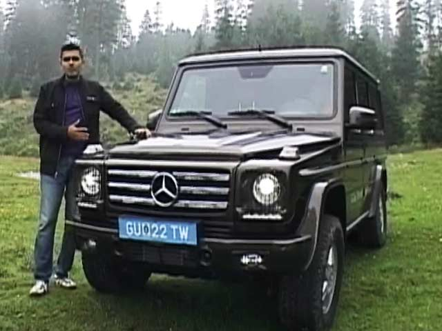 Video : On the SUV Trail: Mercedes-Benz G-Class