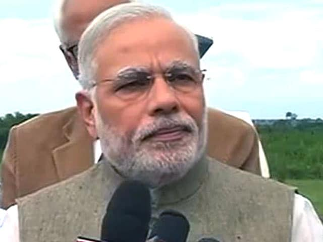 Video : Floods in Jammu and Kashmir a National Calamity, Says PM Modi