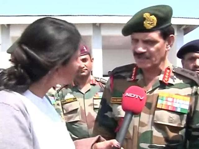 Video : J&K Floods: Communication and Connectivity the Biggest Challenge, Says Army Chief