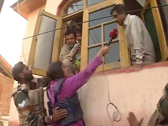 Video : Stranded in Srinagar But Won't Leave Home
