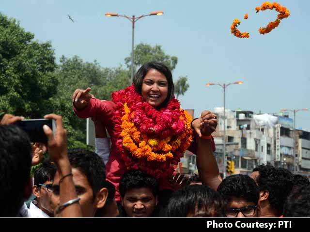Video : ABVP Sweeps Delhi University Polls, First Big Win in 18 Years