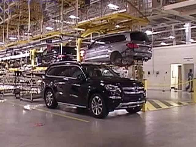 Video : SUV Trail: Mercedes-Benz's Tuscaloosa Plant