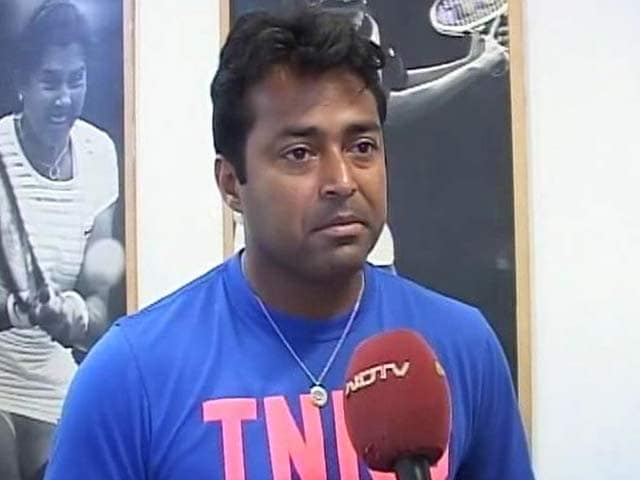 Video : Skipping Asian Games a Difficult Decision But Unavoidable: Leander Paes to NDTV