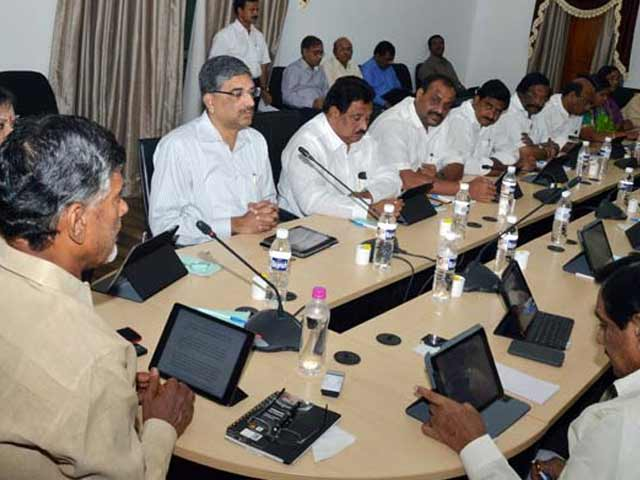 Video : In a First, Andhra Pradesh Holds a Paperless Cabinet Meet
