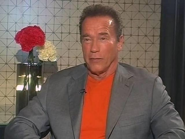Want to Do a Shankar Movie: Arnold Schwarzenegger to NDTV