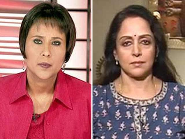 Video : Watch: Vrindavan Widows Should Not Beg - Hema Malini to NDTV