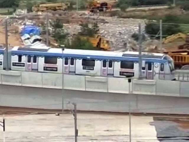 Video : Hyderabad Metro Project Not Viable After Telangana, Says Developer