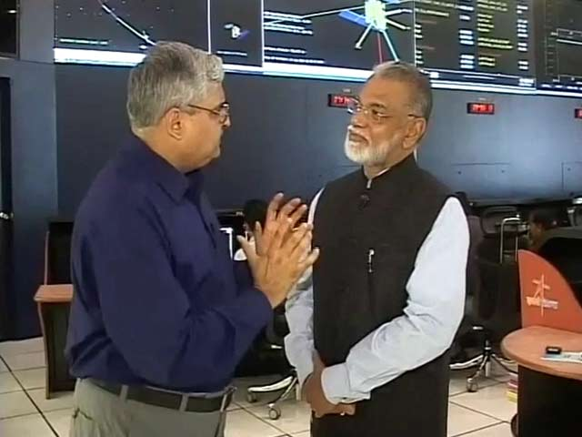 Video : Mangalyaan Healthy, Team Cool: ISRO Chief to NDTV