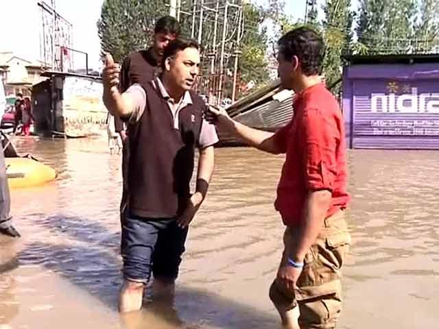 Video : J&K Floods: 'Pumps Needed Urgently'