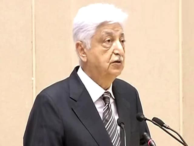 Video : 80% of Wipro's Raw Materials Sourced from India: Premji at 'Make in India' Launch