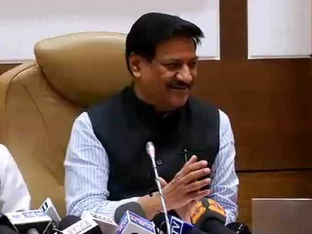 Video : As Two Alliances Break Down in Maharashtra, Prithviraj Chavan Questions Timing