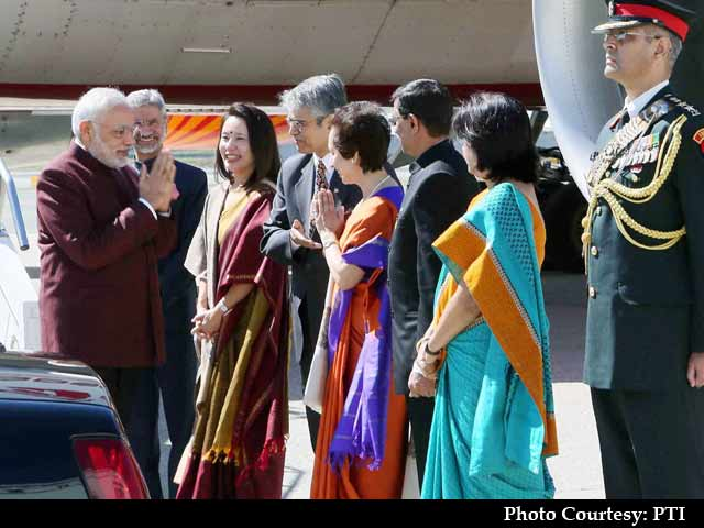 Video : PM Modi Arrives in New York, Says US a 'Natural Global Partner'