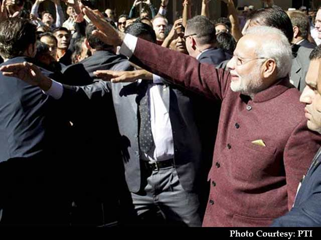 Video : PM Modi Arrives in New York to a Rock-Star Welcome