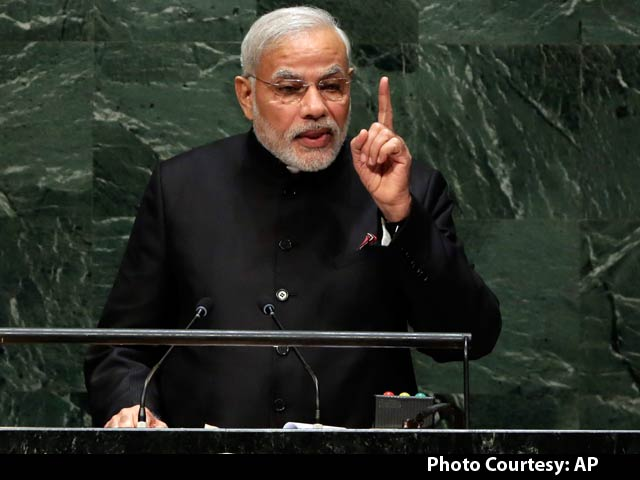 Video : Watch: Ready For Bilateral Talks With Pakistan, But Without Shadow of Terror - PM Modi at UN