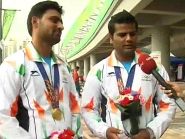 Video : Asian Games: We Were Only Aiming for Gold Medal, Says Archer Rajat Chauhan