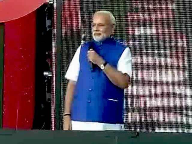 Video : PM Modi Enthralls Crowd at New York's Central Park