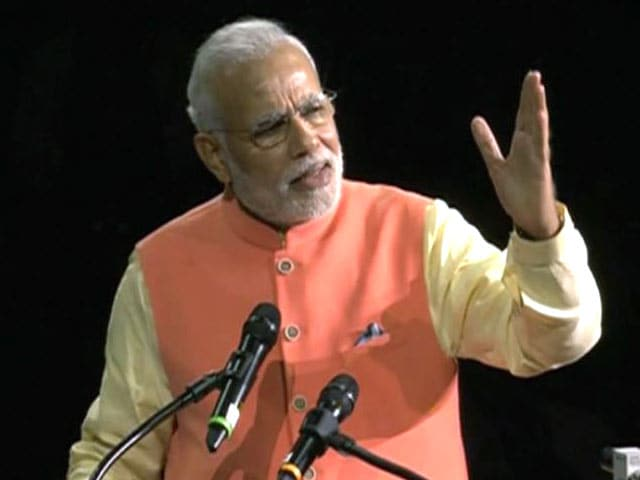 Video : Want to Make Development a Mass Movement, Says PM Modi at Madison Square Garden