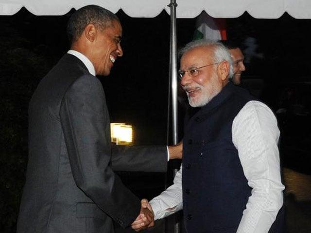 Video : बराक ओबामा ने पीएम मोदी से कहा, 'केम छो'